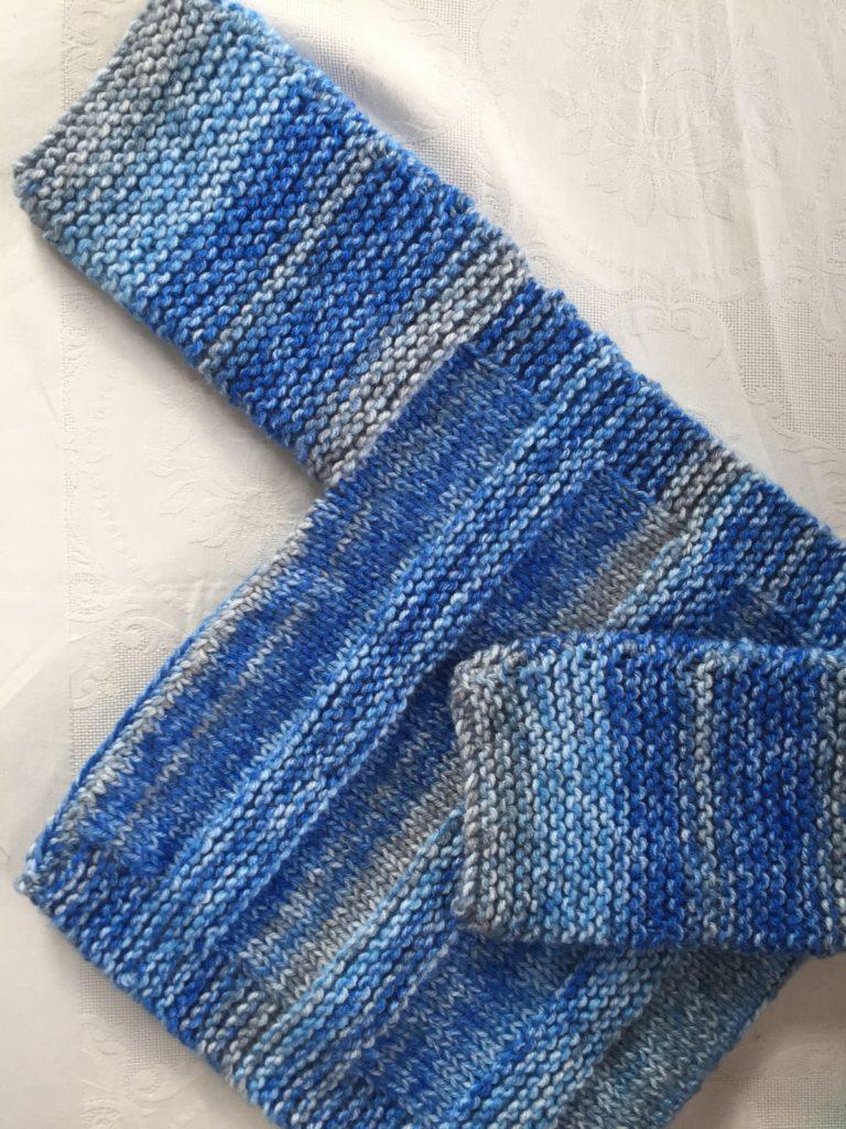 Blue Sideways Jersey